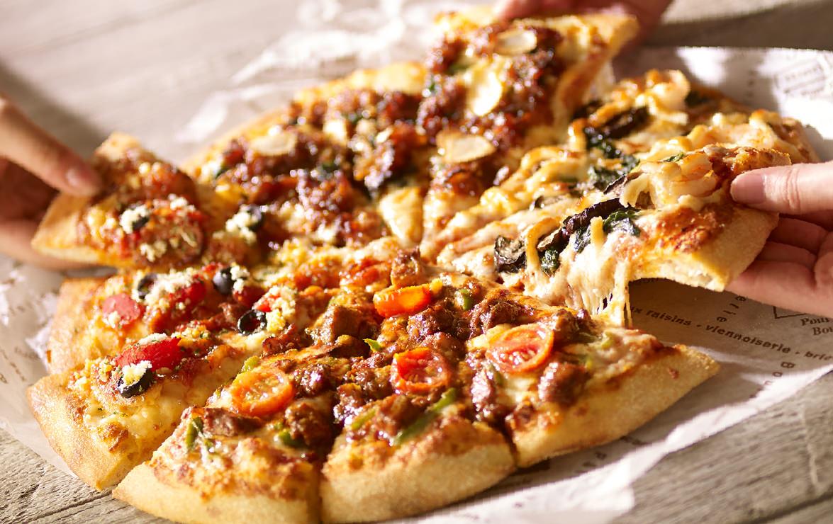 アメリカ飯テロピザ